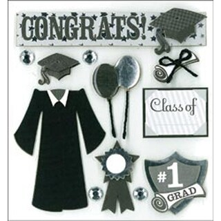Graduation Day - Dimensional Stickers