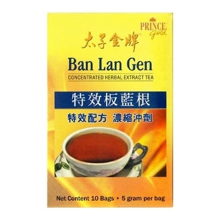 Prince of Peace, Ban Lan Gen Concentrated Herbal Extract Tea, Pack of 10 Bags