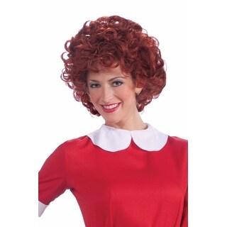 Forum Novelties Annie Adult Costume Wig - Red