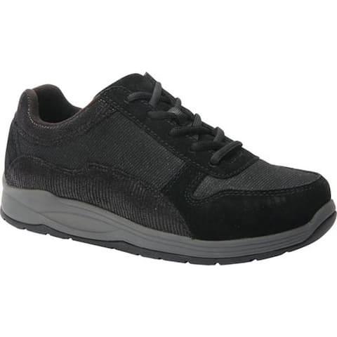 Drew Women's Tuscany Sneaker Black Leather/Nylon