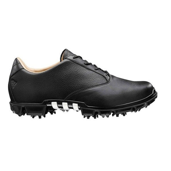 super popular 2679b 90af2 Shop Adidas Mens Adipure Motion Black Golf Shoes 674878672138 - Free  Shipping Today - Overstock - 19571026