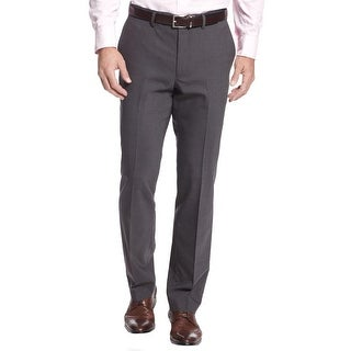 Kenneth Cole New York Mens Dress Pants Wool Flat Front - 38/29
