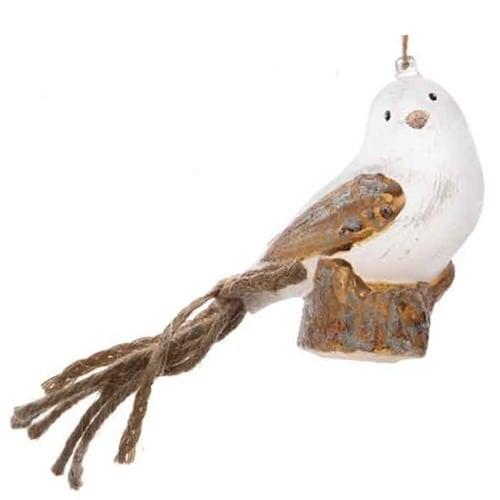 Bird with Braided Tail