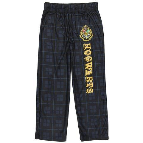 Intimo Harry Potter Big Boys Houses Plaid Pajama Lounge Pants (Hogwarts, M-8)