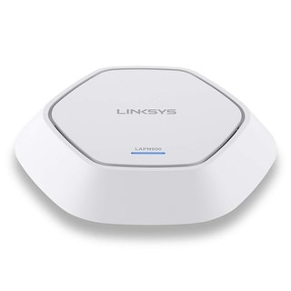 Linksys LAPN600 Business Access Point Wireless Wi-Fi Dual Band 2.4 + 5GHz N600 with PoE Linksys LAPN600 IEEE 802.11n 600 Mbit/s
