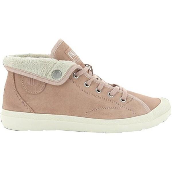 20dd0a190d5 Palladium Women's Aventure Warm SUE Sneaker Mahogany Rose/Beige Suede