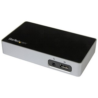 Startech Dvi Docking Station For Laptops - Usb 3.0 - Universal Laptop Docking Station - Dvi Laptop Dock