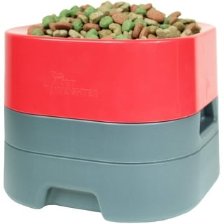 Link to PetWeighter Bowl - Large & Heavy Dog Food Bowl - Elevated Dog & Cat Water Bowl (Large) Similar Items in Dog Feeders & Waterers