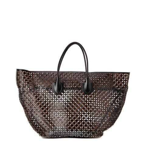 Alaia Leather Tote