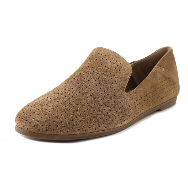 Lucky Brand Caldyn Women Round Toe Leather Tan Loafer