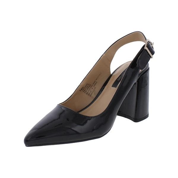 Kensie Womens Tiffanie Slingback Heels Pointed Toe Dress