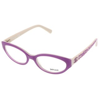 Just Cavalli JC0522/V 080 Lilac Oval Optical Frames - 53-17-140