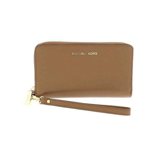 2c593efd87f8 Shop MICHAEL Michael Kors Womens Mercer Wristlet Wallet Large Phone ...