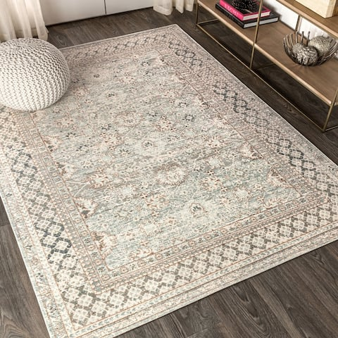 Stirling English Country Argyle Area Rug
