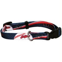 Cleveland Indians Pet Collar - Small