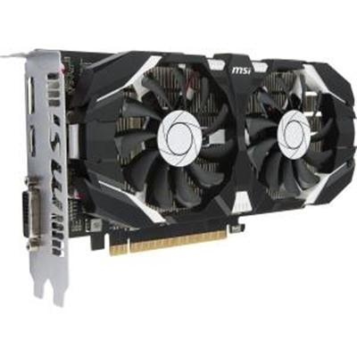 Msi Video G1050t4tc Geforce Gtx 1050 Ti 4Gt Oc Graphic Card - 1.34 Ghz Core - 4 Gb Gddr5