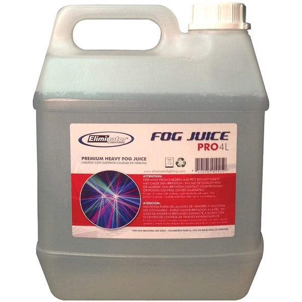 Eliminator Lighting 4L Pro Fog Juice, 4-Liter Jug (Premium)