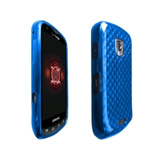 OEM Verizon High Gloss Silicone Case for Samsung Droid Charge SCH-I510 (Blue) (B