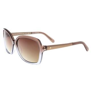 Kate Spade - Darilynn/P/S 0Y26 Brown Ash Square Sunglasses - 58-16-135