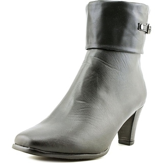 Annie Shoes Velocity  WW Round Toe Synthetic  Mid Calf Boot