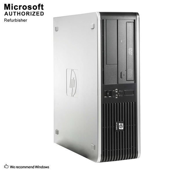 HP RP5800, Intel Core i3-2100 3.1GHz, 8GB DDR3, 1TB HDD, DVD, WIFI, DP Port, WINdows 10 fessional 64 Bit(EN/ES)-Refurbished