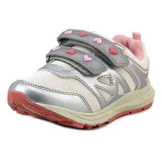 Carter's Marcel-G Youth Round Toe Synthetic Silver Sneakers