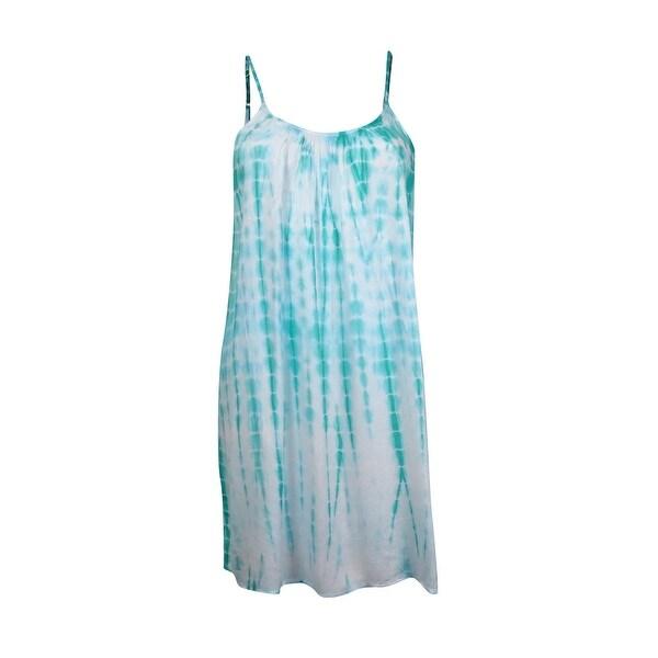 Raviya Women's Lattice Back Tye Dye Cover Up