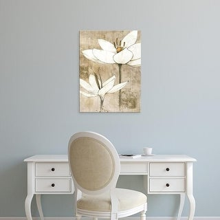 Easy Art Prints Avery Tillmon's 'Pencil Floral I' Premium Canvas Art