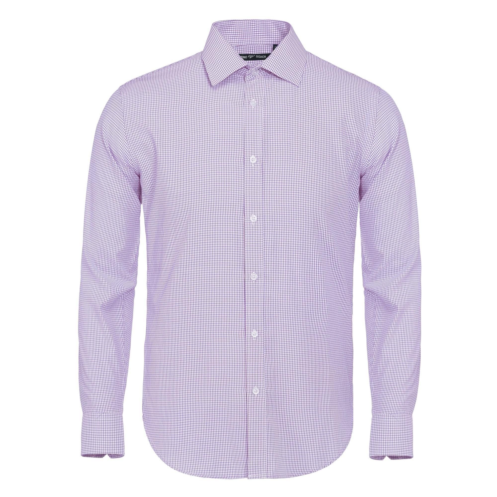 Size 17 36//37 White Ryan Seacrest Men/'s Slim Fit Textured French Dress Shirt