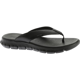 3681045de37 Shop Cole Haan Women s ZeroGrand Thong Sandal Black Leather Black - Free  Shipping Today - Overstock.com - 12101127