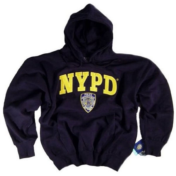 73c4dbfa NYPD Shirt Hoodie Sweatshirt Navy Blue Authentic Clothing Apparel  Officially Licensed Merchandise by The New York City P