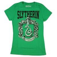 Harry Potter Juniors Slytherin Short Sleeved T-Shirt