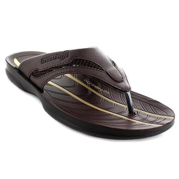 4ec1a474cc6a2c Shop Aerosoft Tawny Men Original Sandals, Grey - Size 11 - Free ...