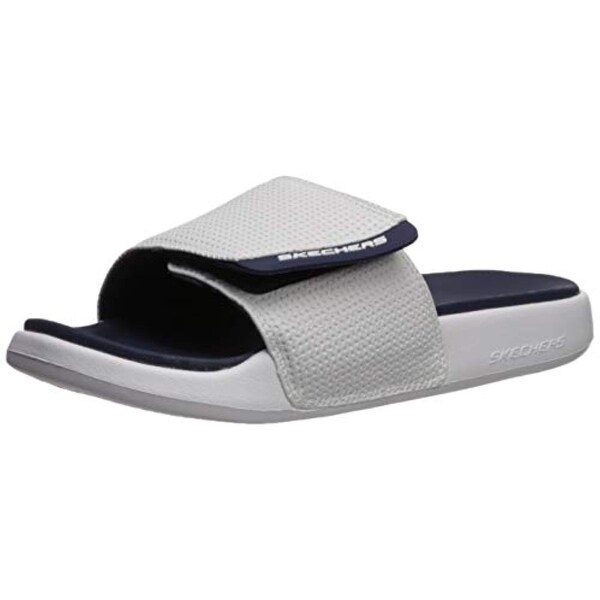 Details about Skechers Men's Gambix 2.0 Slide Sandal
