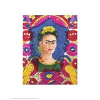 ''The Frame'' by Frida Kahlo Latino Art Print (20 x 16 in.)