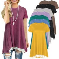 d695f866465 Buy 3/4 Sleeve Shirts Online at Overstock | Our Best Tops Deals