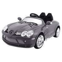 Costway Mercedes-Benz R199 Lisenced 12V Electric Kids Ride On Car RC Remote Control MP3