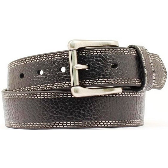Nocona Western Belt Mens Leather HD Extreme Basic Black
