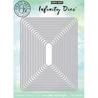 Hero Arts Infinity Dies-Rounded Rectangle