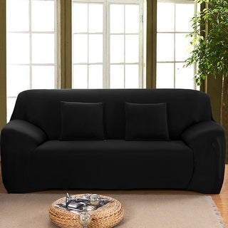 stretch 1 2 3 seats sofa chair cover loveseat couch sofa slipcover solid color free shipping. Black Bedroom Furniture Sets. Home Design Ideas