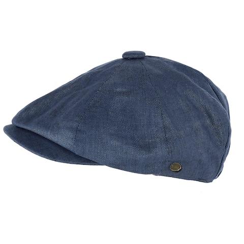 Epoch Hats Company Men's Linen Newsboy Cap