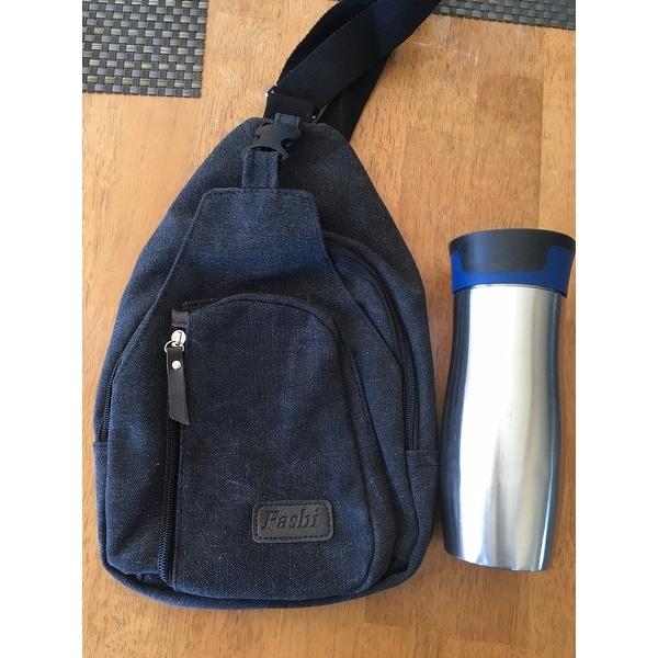 536f2e5726322 Shop Vintage Canvas Satchel School Military Men s Hiking Shoulder Bag  Messenger Bag - Free Shipping On Orders Over  45 - Overstock - 11655893