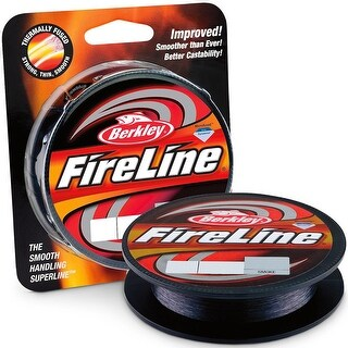 Berkley FireLine Fused Original Fishing Line (300 yds) - 20 lb Test - Smoke