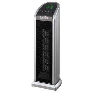 Duraflame DFH-TH-7-E Ceramic Small Tower Heater, 900/1500 Watts