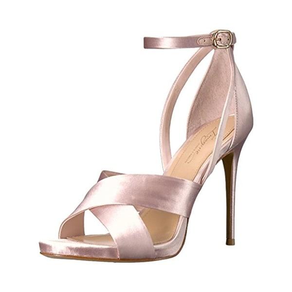 Imagine Vince Camuto Womens Dairren Evening Heels Open Toe Ankle