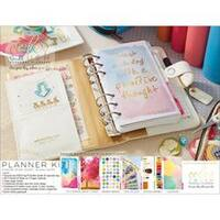 White - Color Crush Personal Planner Kit