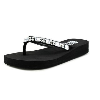 Yellow Box Sabbi II Open Toe Synthetic Thong Sandal