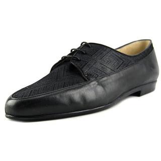 Amalfi By Rangoni Ombra Women W Round Toe Leather Black Flats