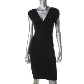 KamaliKulture Womens Sleeveless Mini Cocktail Dress - S