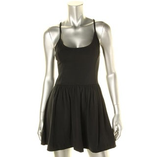 French Connection Womens Sleeveless Mini Skater Dress - 10